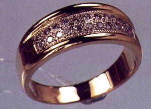 Гадание с обручальным кольцом