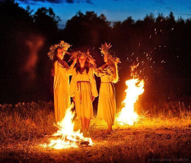 Ведьмы у костра