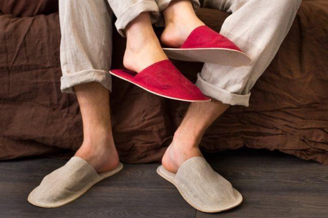Ритуал для привлечения мужа с помощью тапочек