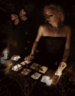 Ритуал карточного приворота, фото