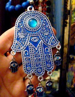 MaiYaCa Hamsa Hand Amulet Psychedelic Luxury Fashion Phone