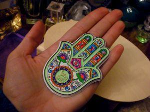 Рука от сглаза Хамса, фото