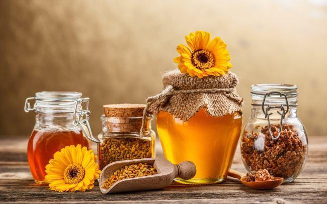 На мёд