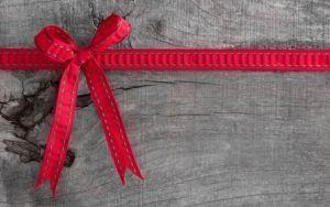 Талисман удачи - красная лента