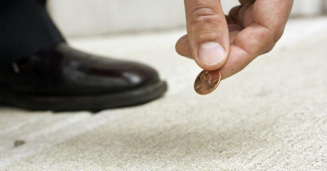 Примета монета в машине, доме или на улице
