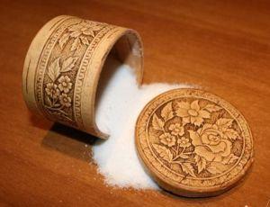Как сделать расорку на соль