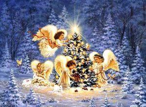 Действенные Рождественские заговоры на счастье