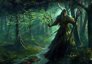 Кельтские духи Сиды