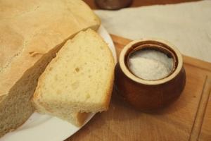 Хлеб с четверговой солью