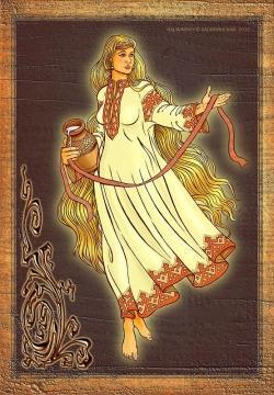 Славянская богиня