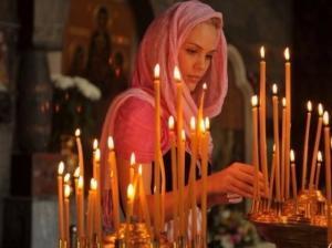 Церковный приворот на свечах