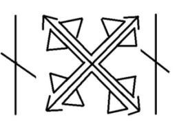 Руна рабский крест
