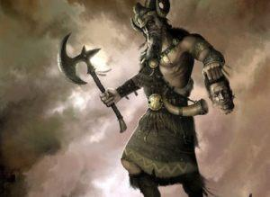 Обереги Славянского Бога Перуна: секира, топор, щит, меч, звезда, птица