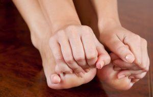Пальцы на ноге