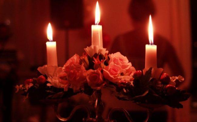 Ритуал на свечах