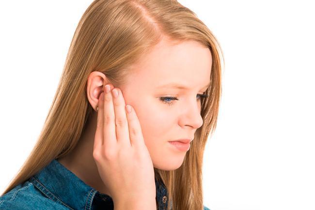 Правое ухо