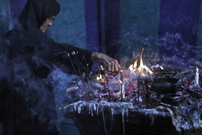 Самостоятельный ритуал