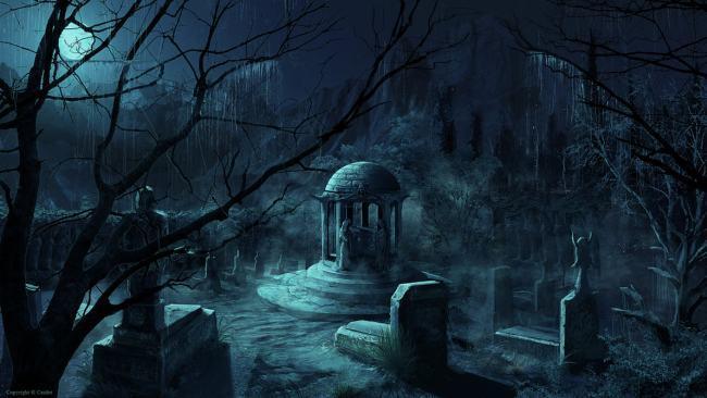 Ритуал на могиле