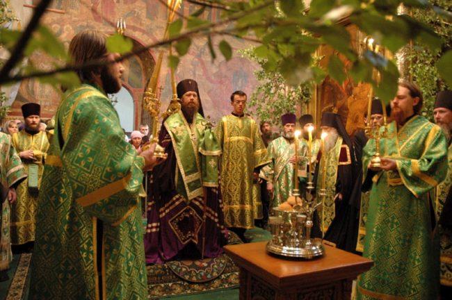 Традиции на Троицу на Руси