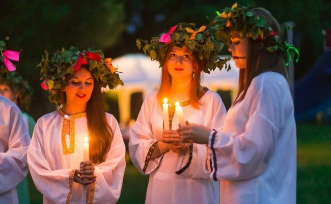 Как праздновали троицу на руси