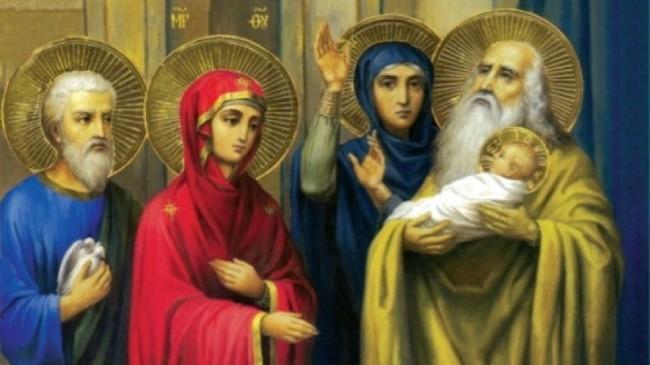 Пророчица Анна и старец