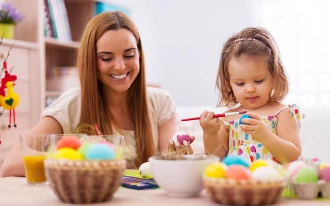 Роспись яиц, как пасхальная традициятради