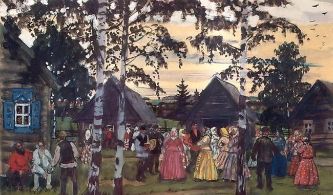 Праздничное народное гуляние